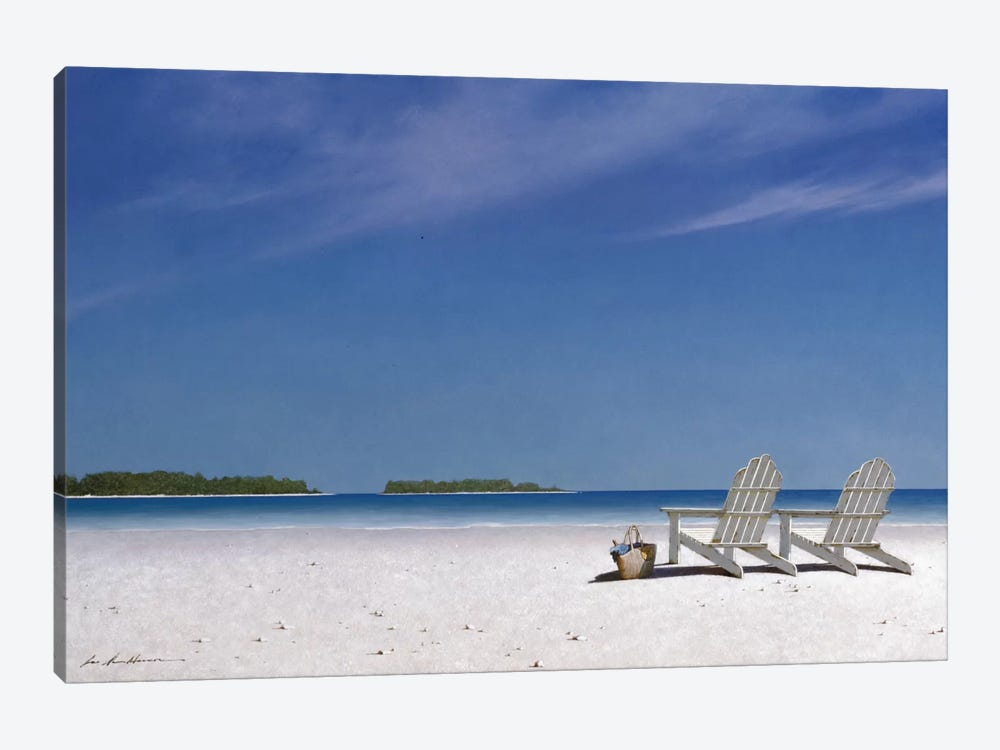 A View For Two by Zhen-Huan Lu 1-piece Canvas Wall Art