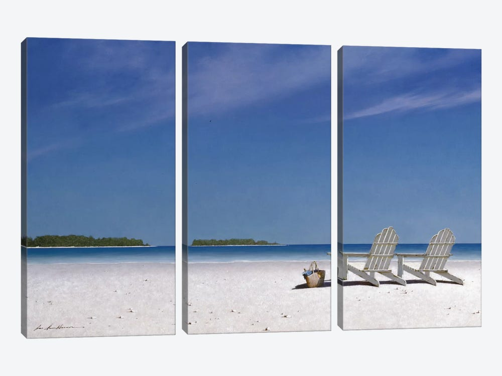 A View For Two by Zhen-Huan Lu 3-piece Canvas Art