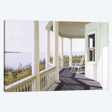 Carolina Overlook Canvas Print #ZHL20} by Zhen-Huan Lu Canvas Art Print