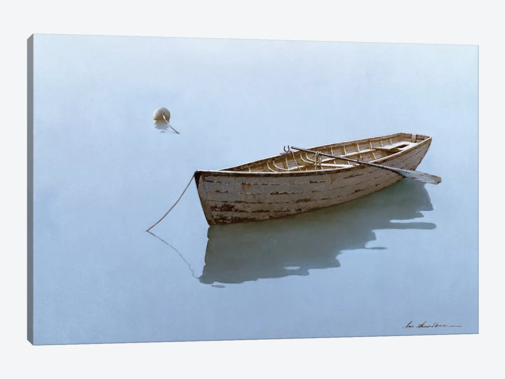Floating by Zhen-Huan Lu 1-piece Canvas Art Print