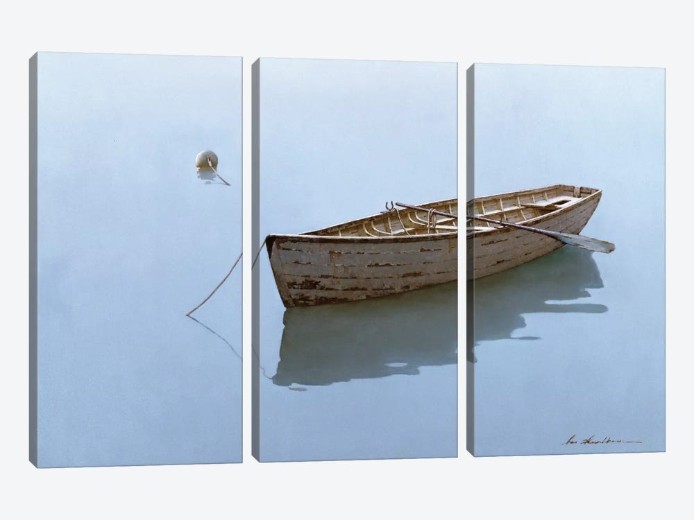 Floating by Zhen-Huan Lu 3-piece Canvas Print