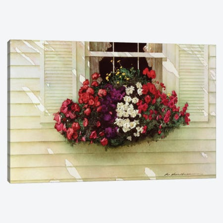 Flowerbox Canvas Print #ZHL35} by Zhen-Huan Lu Canvas Print