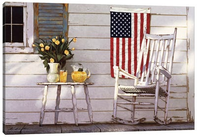 Fourth Of July Canvas Art Print