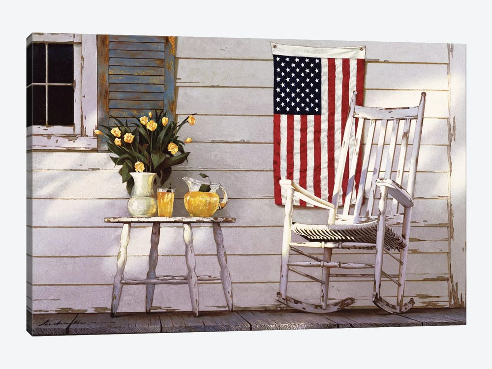 Fourth Of July by Zhen-Huan Lu 1-piece Canvas Artwork