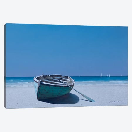 Coastal Respite Canvas Print #ZHL43} by Zhen-Huan Lu Canvas Print