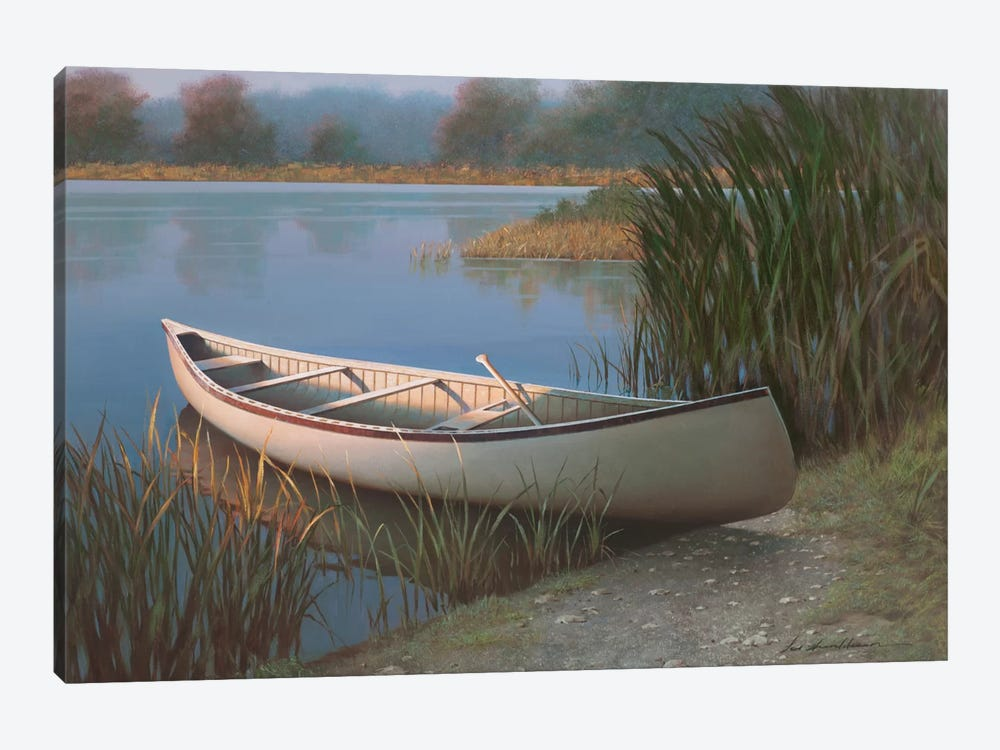 On The Lake by Zhen-Huan Lu 1-piece Canvas Artwork