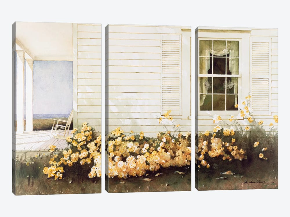In Bloom by Zhen-Huan Lu 3-piece Canvas Art Print