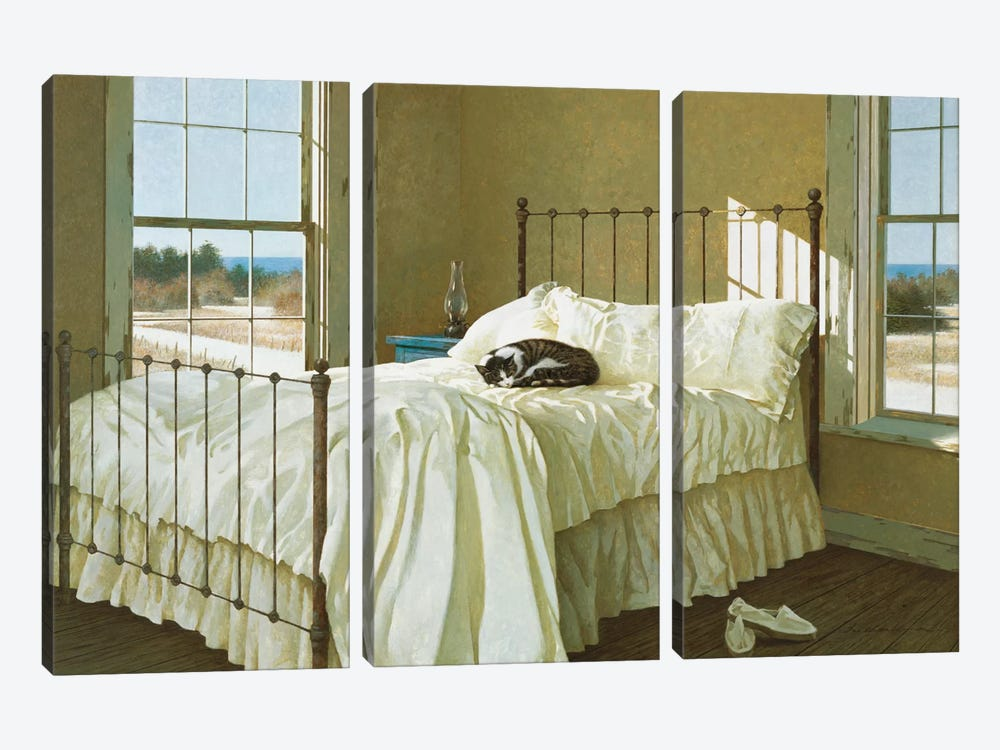 Lazy Afternoon by Zhen-Huan Lu 3-piece Canvas Art Print