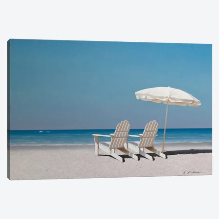 Lazy Days Canvas Print #ZHL54} by Zhen-Huan Lu Canvas Print