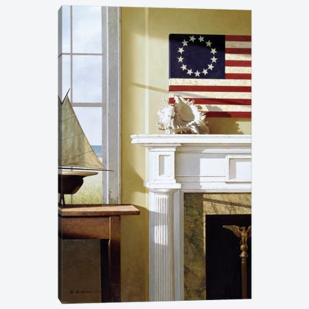 Liberty Canvas Print #ZHL55} by Zhen-Huan Lu Canvas Art Print