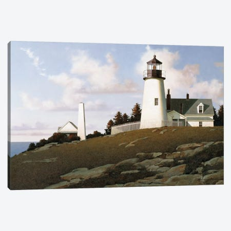 Lighthouse II Canvas Print #ZHL56} by Zhen-Huan Lu Art Print