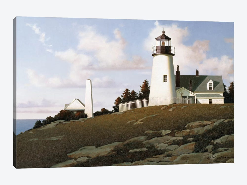 Lighthouse II by Zhen-Huan Lu 1-piece Canvas Artwork