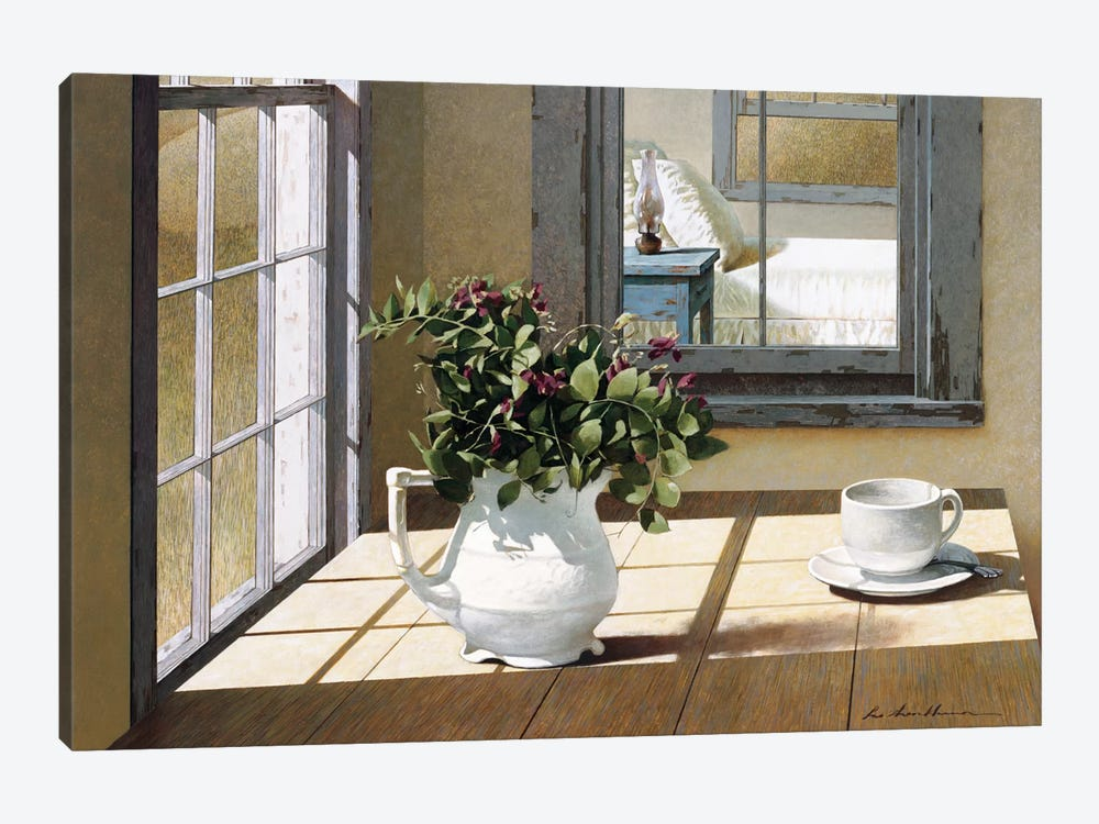 Morning Coffee by Zhen-Huan Lu 1-piece Canvas Artwork