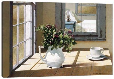 Morning Coffee Canvas Print #ZHL63