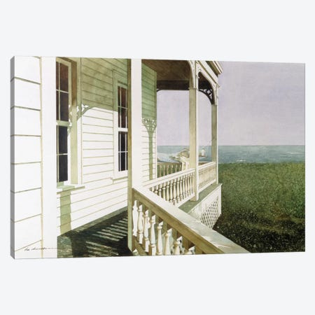 Nantucket Light Canvas Print #ZHL66} by Zhen-Huan Lu Canvas Wall Art