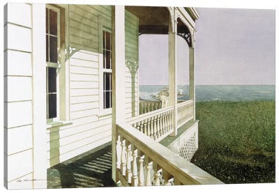 Nantucket Light Canvas Print #ZHL66