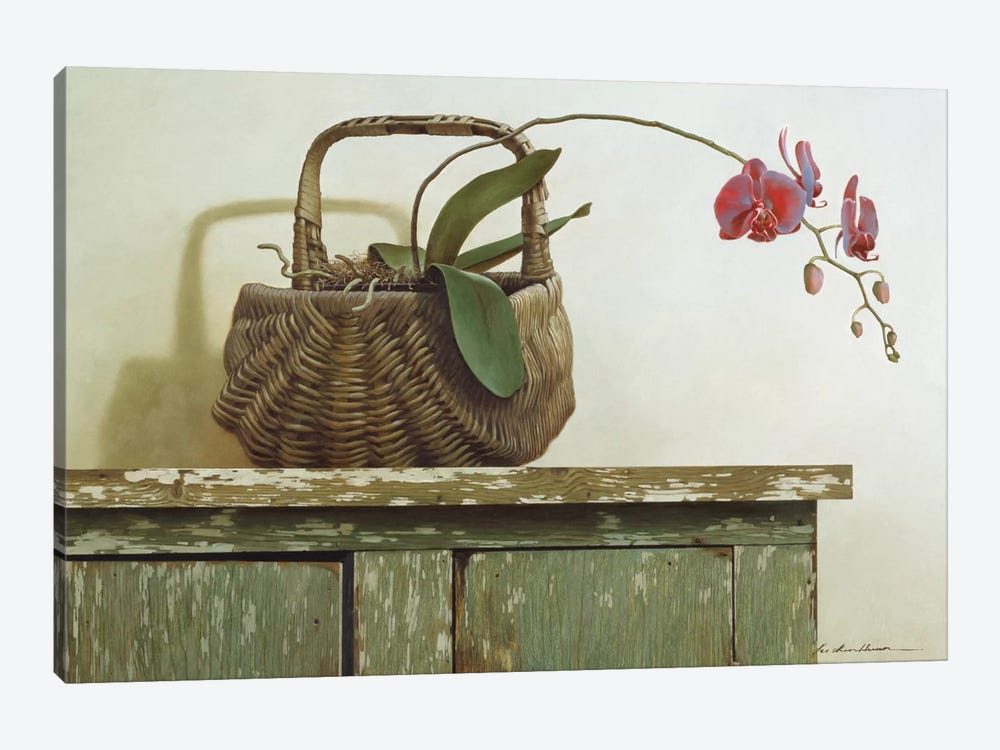 Orchid Basket by Zhen-Huan Lu 1-piece Art Print