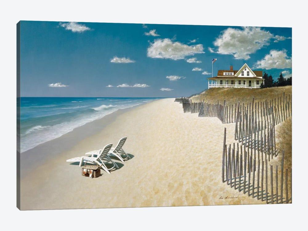 Beach house view i canvas art by zhen huan lu icanvas for Beach house prints