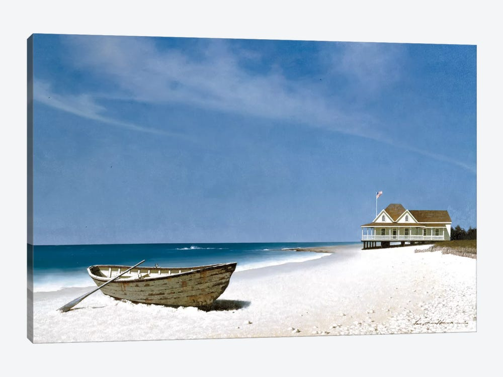 Beach House View II by Zhen-Huan Lu 1-piece Art Print