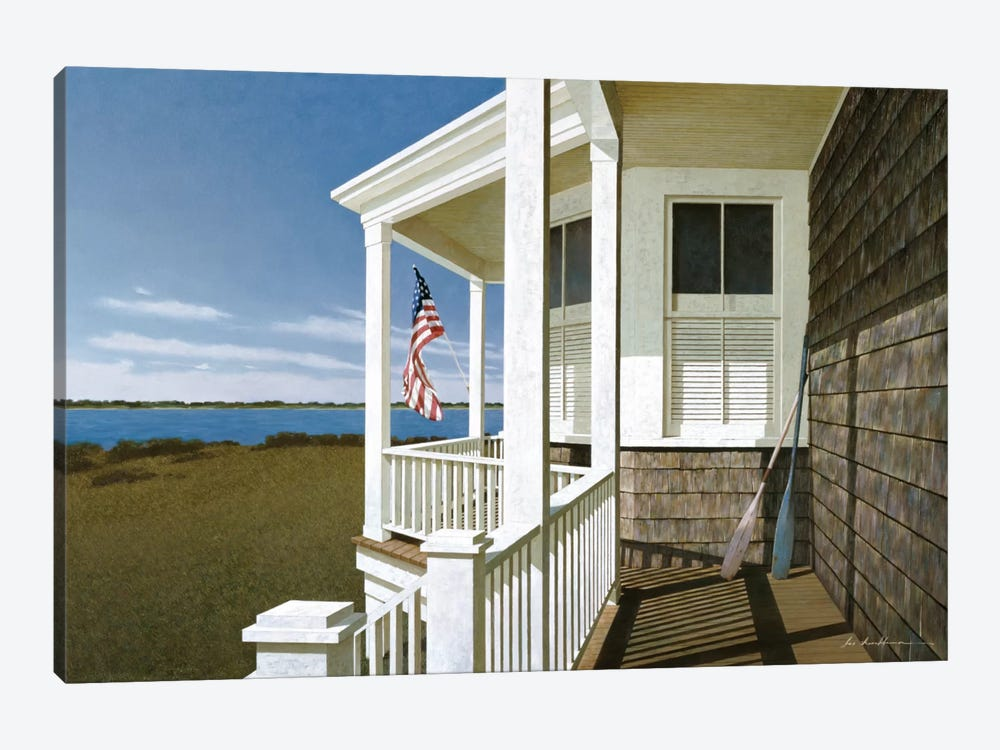 Porch View I 1-piece Art Print