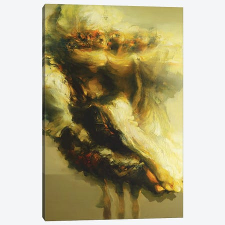 Las Musas (Homage To Goya)  Canvas Print #ZHO12} by Zil Hoque Canvas Art Print
