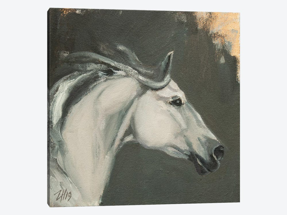 Family Equidae (study 13) by Zil Hoque 1-piece Canvas Wall Art