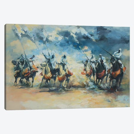 Light Dust & Smoke  Canvas Print #ZHO13} by Zil Hoque Canvas Art Print