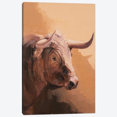 Toro Espanol Colorado IV Canvas Print #ZHO185} by Zil Hoque Art Print