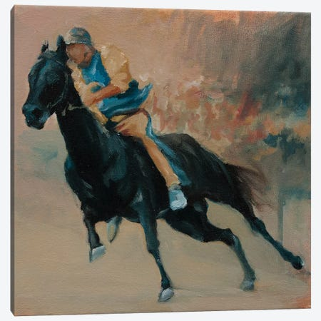Palio (study 1) Canvas Print #ZHO189} by Zil Hoque Canvas Art