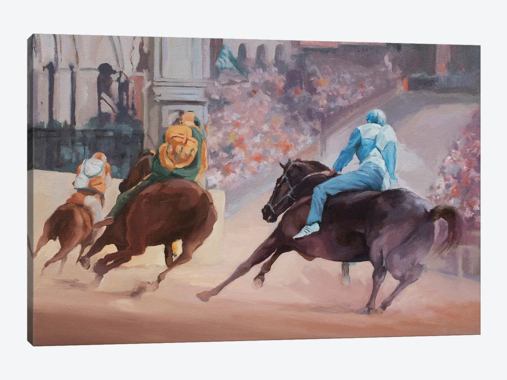 Palio 2 by Zil Hoque 1-piece Canvas Wall Art