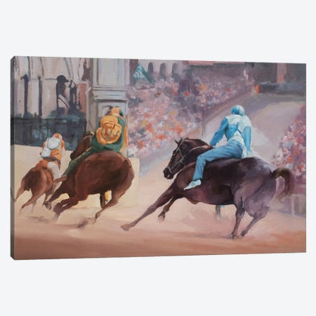 Palio 2 Canvas Print #ZHO191} by Zil Hoque Canvas Print