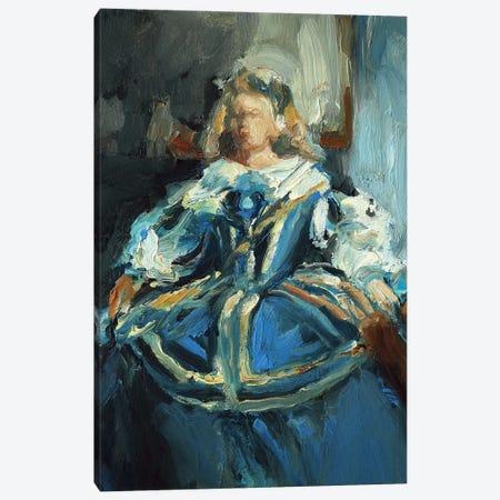 Recuerdos De La Infanta Margarita Canvas Print #ZHO199} by Zil Hoque Art Print