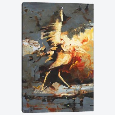 Adjutant Evolution  Canvas Print #ZHO1} by Zil Hoque Canvas Art Print
