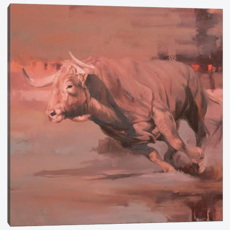 Velocity Canvas Print #ZHO205} by Zil Hoque Canvas Artwork