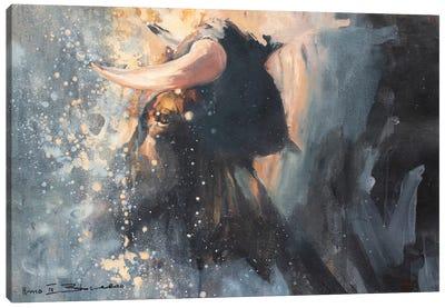 Horns III Canvas Art Print