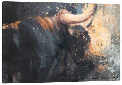 Horns V Canvas Art Print