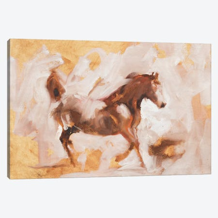 Pegasus (Study) Canvas Print #ZHO21} by Zil Hoque Canvas Artwork