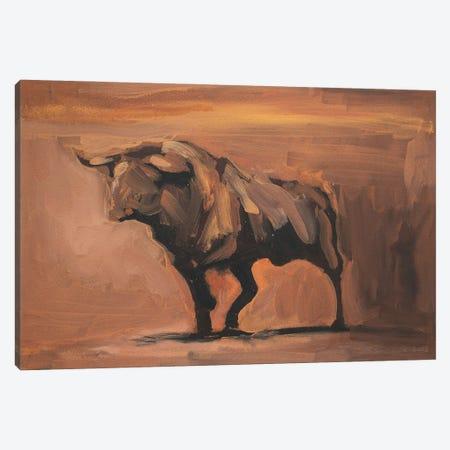Toro Essay XVIII Canvas Print #ZHO221} by Zil Hoque Canvas Art Print