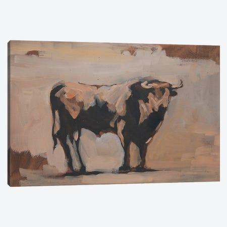 Toro Essay XXIII Canvas Print #ZHO224} by Zil Hoque Canvas Wall Art