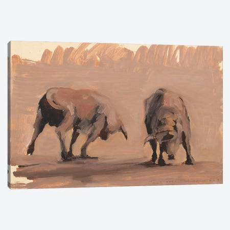 Toro Essay XXXII Canvas Print #ZHO230} by Zil Hoque Canvas Wall Art