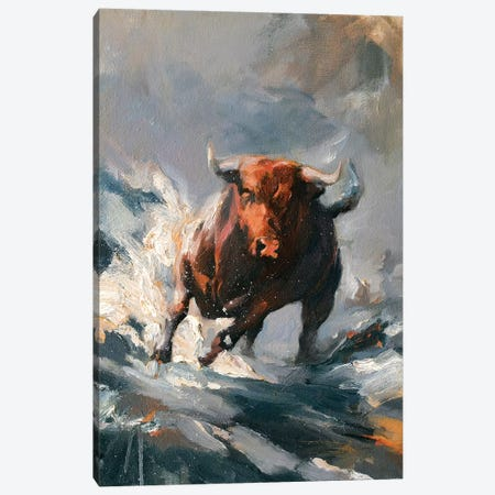 Tempest I Canvas Print #ZHO24} by Zil Hoque Canvas Print