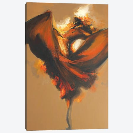 Terpsichore II Canvas Print #ZHO29} by Zil Hoque Canvas Art
