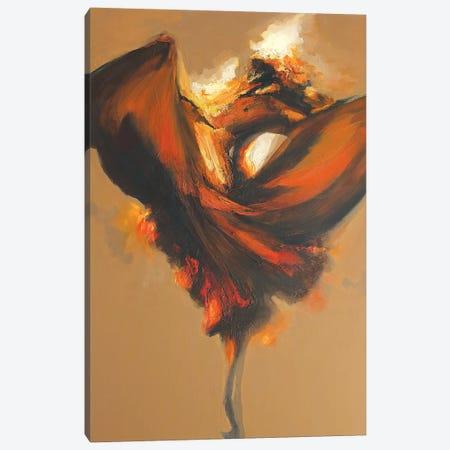 Terpsichore II Canvas Print #ZHO29} by Zil Hoque Canvas Art