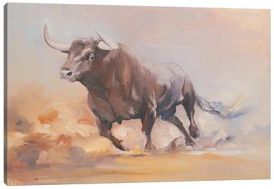 Toro Bravo VIII Canvas Art Print