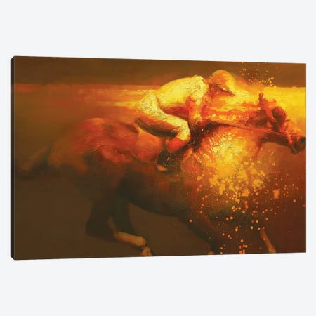 Velocidad II Canvas Print #ZHO32} by Zil Hoque Art Print
