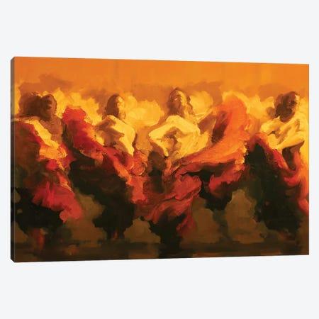Cortejo Rojo II Canvas Print #ZHO38} by Zil Hoque Canvas Art Print