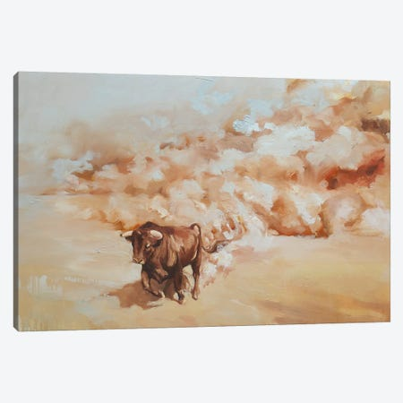 Desert Storm Canvas Print #ZHO40} by Zil Hoque Canvas Artwork
