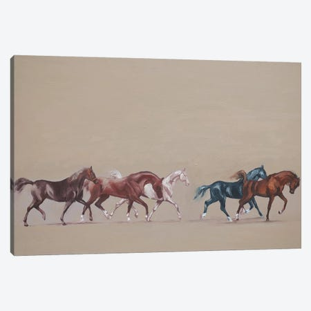 Arabians  Canvas Print #ZHO52} by Zil Hoque Canvas Art Print