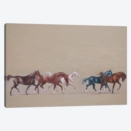 Arabians  Canvas Print #ZHO52} by Zil Hoque Canvas Art Print