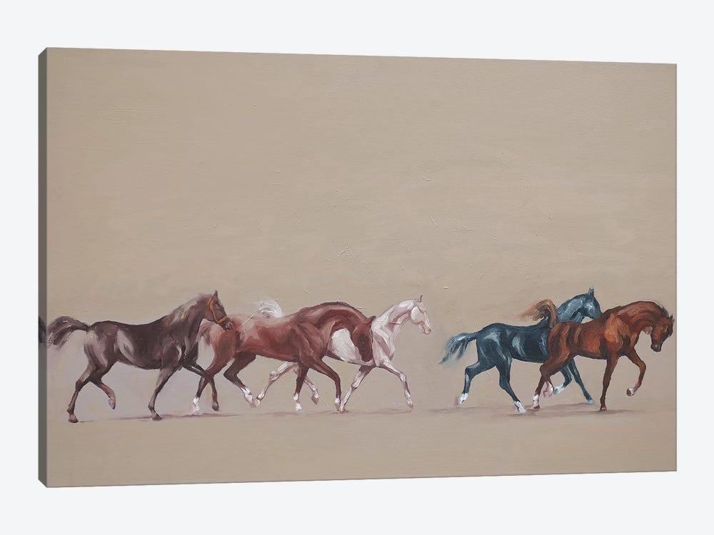 Arabians  by Zil Hoque 1-piece Canvas Art